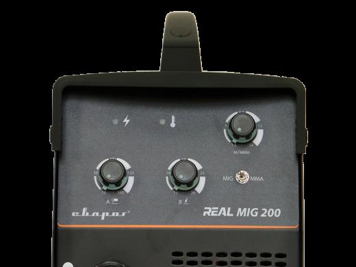 REAL MIG 200 (N24002) BLACK