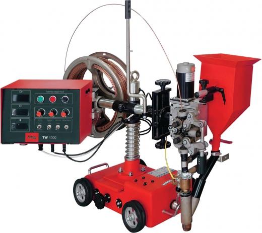 Источник для сварки под флюсом SW 1250 + трактор сварочный TW 1250 + набор соединительных кабелей