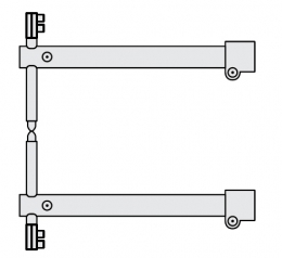 FUBAG Комплект плечей O 40 х 550мм для серии RS