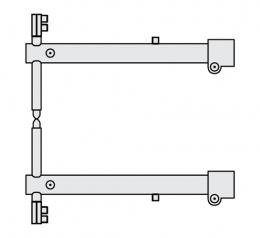 FUBAG Комплект плечей O 40 х 700мм для серии RS