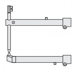 FUBAG Комплект плечей O 40 х 700мм прямые c уменьшенным электрододержателем для серии RS