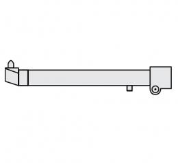 FUBAG Нижнее плечо O 40 х 700мм наклонное c уменьшнным электрододержателем для серии RS