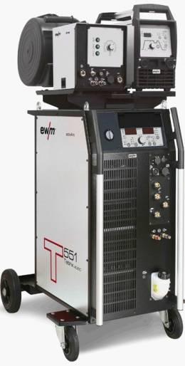 Tetrix 551 AC/DC Synergic AW FW coldwire