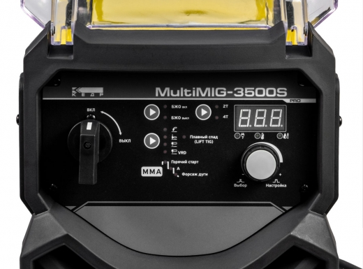 Источник сварочный КЕДР MultiMIG-3500S (380В, 40-350А)