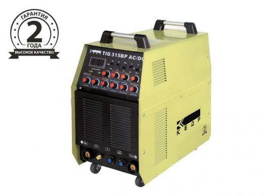 Установка аргонодуговой сварки КЕДР TIG-315BP AC/DC (380В, 10-315А)