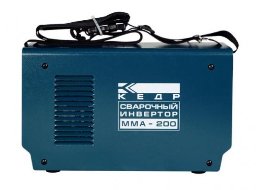 Аппарат инверторный КЕДР MMA-200 в КЕЙСЕ (220B, 20-200А)