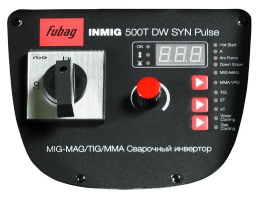 INMIG 500T DW SYN PULSE + подающий механизм DRIVE INMIG DW SYN PULSE + горелка FB 400 3m + Шланг пакет 5м