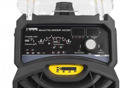 Установка аргонодуговой сварки КЕДР MultiTIG-2000P AC/DC (220В, 5-200А, без горелки)