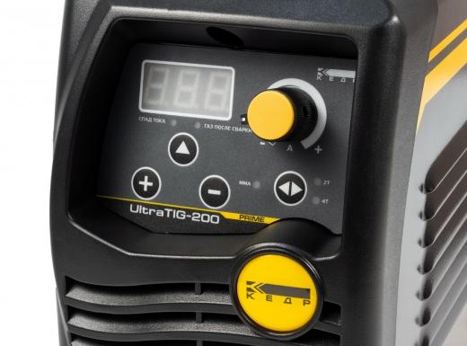Установка аргонодуговой сварки КЕДР UltraTIG-200 (220В, 10-200А)