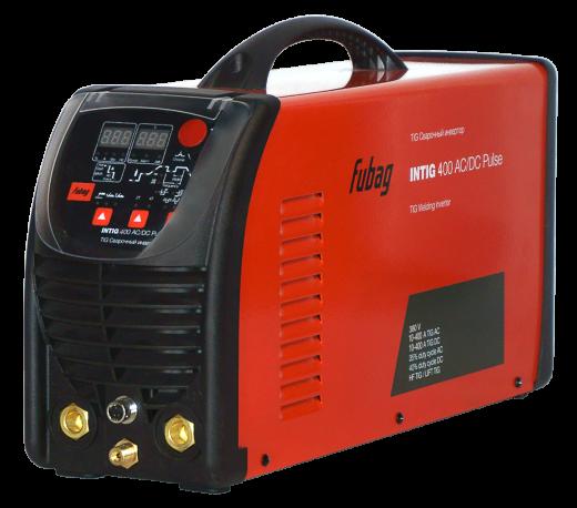 FUBAG INTIG 400 T AC/DC PULSE + Горелка FB TIG 18 5P 4m + блок жидкостного охлаждения Cool 70 + тележка