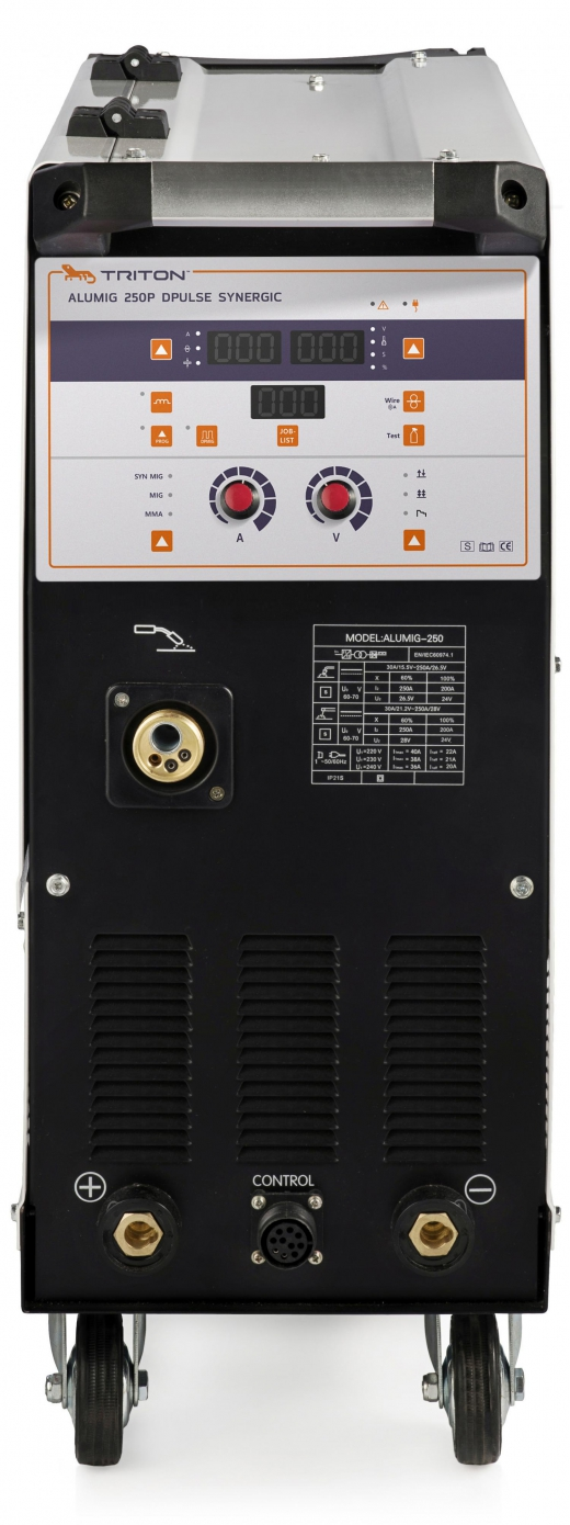 ALUMIG 250P Dpulse Synergic 380v