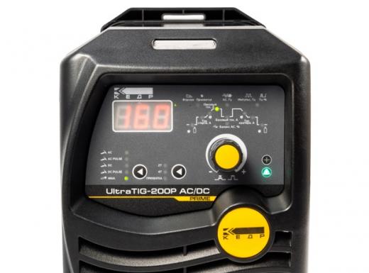 Установка аргонодуговой сварки КЕДР UltraTIG-200P ACDC (220В, 10-200А)