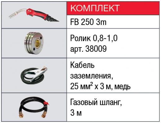 FUBAG INMIG 250 T+ горелка FB 250