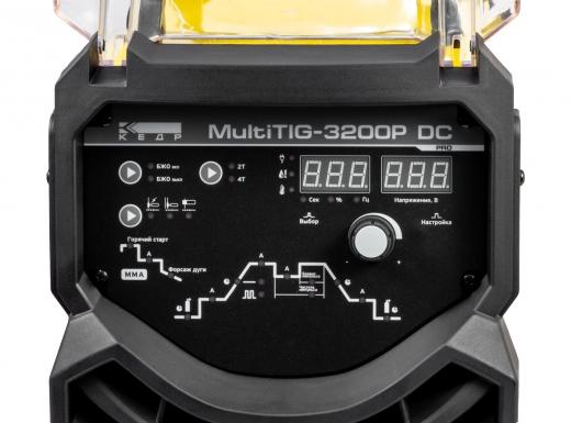 Установка аргонодуговой сварки КЕДР MultiTIG-3200P DC (380В, 5-320А)
