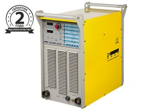Установка аргонодуговой сварки КЕДР TIG-500P AC/DC (380В, 5-500А), без горелки