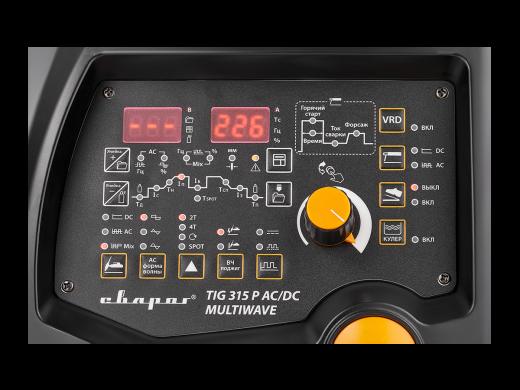 PRO TIG 315 P ACDC MULTIWAVE (E202)