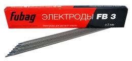 FUBAG Электрод сварочный с рутиловым покрытием FB 3 D3,0 мм (пачка 0,9 кг)