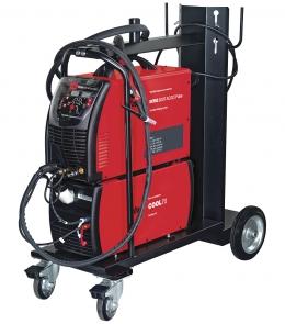 FUBAG INTIG 500 T AC/DC PULSE + горелка FB TIG 18 5P 4m + блок жидкостного охлаждения Cool 70 + тележка