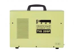Установка аргонодуговой сварки КЕДР TIG-209P DC (220В, 10-200А)